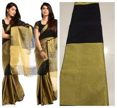 Sarees Versatile South silk Saree  *Fabric* Saree -South Silke, Blouse - South Silk  *Size* Saree Length -5.3 Mtr  , Blouse Length -0.70 Mtr  *Work* Printed  *Sizes Available* Free Size *   Catalog Rating: ★3.8 (152)  Catalog Name: Alisha Printed Kasavu Georgette Sarees with Floral Pattern CatalogID_166344 C74-SC1004 Code: 453-1303129-