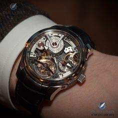 Greubel Forsey Double Tourbillon Technique Fine Watches, Cool Watches, Watches For Men, Men's Watches, Equation Of Time, Solar Time, Red Gold, White Gold, Sporty Watch