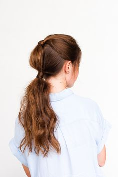 Holiday Hair, Don't Care: Simple Holiday Hair Two Ways in 10 Minutes
