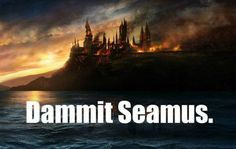 Dammit Seamus, now look what you've done!
