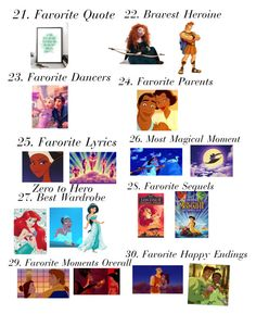 """Disney 30 Favorites"" by iluvmusic-1 on Polyvore featuring Disney, Merida and Monday"