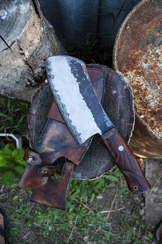 Butcher knife meat cleaver chef knife hand forged knife