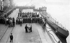 """U-408 on 19th Dec1941 - The submarine U-408 joined 11 2nd flotilla in Norway. Acted against the Northern convoys. 3 ships of of the convoy PQ-18 (Soviet steamer """"Stalingrad"""" (loading capacity 3559 GRT), an American ship, Oliver Ellsworth (7191 GRT), a British tanker Atheltemplar (8992brt)). U-408 sunk with all crew 45 persons on 5th november 1942 by depth charges from a Catalina of the US NAVY. Time taken: 19.11.1941 Location: Danzig, West Prussia, Germany."""