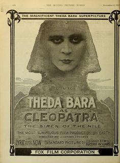 Theda Bara - Cleopatra, regia di J. Gordon Edwards (1917)
