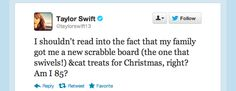 TSwift Ages 62 Years This Christmas