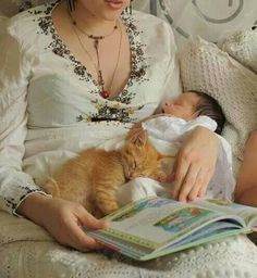 Story time snuggles