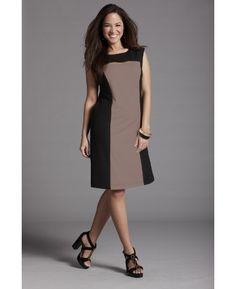 Anna Scholz Color Block Dress - Length from 36in