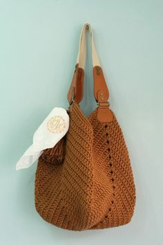 """New Cheap Bags. The location where building and construction meets style, beaded crochet is the act of using beads to decorate crocheted products. """"Crochet"""" is derived fro Crochet Case, Crochet Shell Stitch, Diy Crochet, Crochet Handbags, Crochet Purses, Purse Patterns, Crochet Patterns, Crochet Shoulder Bags, Crochet Market Bag"""