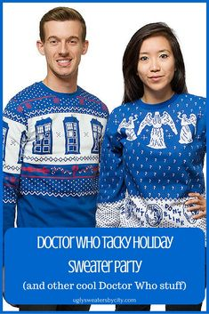 Doctor Who Tacky Holiday Sweater Party