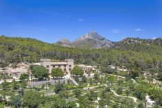 The Luxury Hotel in Mallorca ✦ Castell Son Claret ✦ Leading Hotels of the World ✦Enjoy an unforgettable holiday surrounded by nature ➤ Book now! Leading Hotels, Five Star Hotel, Majorca, Country Estate, Birds Eye View, Hotels Near, Mountain View, Outdoor Pool, Spain