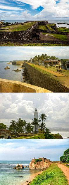 Galle Fort, im Südwesten von Sri Lanka, durch den Tsunami 2004 schwer getroffen :-( Beautiful Places In The World, Beautiful Places To Visit, Great Places, Tsunami, Voyage Sri Lanka, Ceylon Sri Lanka, Places To Travel, Places To Go, Sri Lanka Holidays