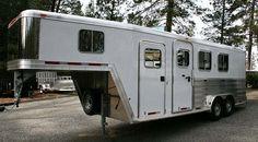 Featherlite horse trailer!