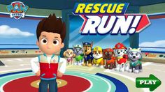Paw patrol_Rescue run_Video games for Kids_Paw patrol for kids