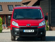 Toyota ProAce Van Long UK-spec '2013–16