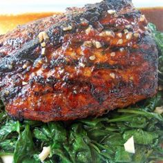 Sweet & Spicy BBQ Pork Roast