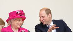 14 Photos That Show Prince William Is the Apple of Queen Elizabeth II's Royal Eye Prince Phillip, Prince William And Kate, Royal Family Portrait, Royal Uk, Elisabeth Ii, Baby George, Royal Babies, I Am A Queen, People Magazine