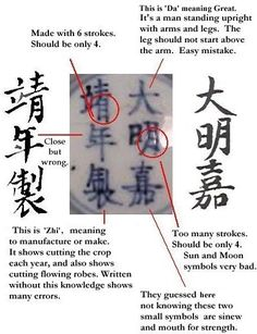Chinese Pottery Marks Identification | Detecting Fake Chinese Porcelain & Ceramics the idots guide to ...