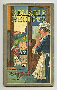 Reliable Recipes | Vintage Cookbook