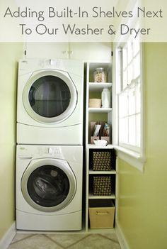 Laundry nook idea