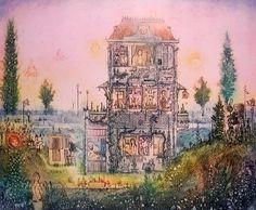 . Teaching Drawing, Etching Prints, Fairy Land, Islamic Art, Watercolor Illustration, Rainbow Colors, Folk Art, Sculptures, Artsy