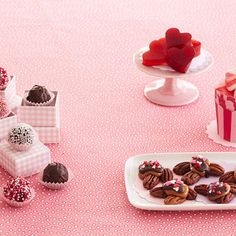 Transform your kitchen into a sweet shop, and enlist your little cherubs as helpers. These tasty two-bite treats are the perfect size for small hands, and a delicious way to show your valentine how much you care.