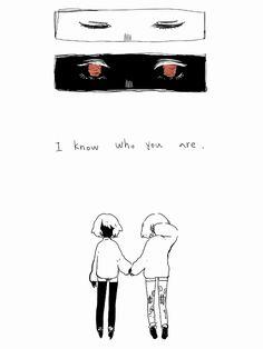 "fofufofu: "" I know who you are,chara. """