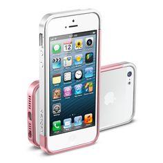 Amazon.com: iPhone 5S Case, Spigen Linear Pops Case for iPhone 5S/5 - 1 Pack - Retail Packaging - POPS Orange (SGP10123): Cell Phones & Accessories