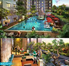 Swiming Pool & Skybridge, Bassura City Apartmen Info: 087878315454