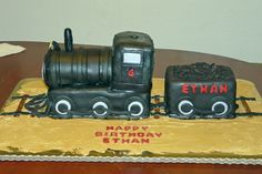 Little Boy Wanted An Old Fashioned All Black Steam Engine For His  cakepins.com