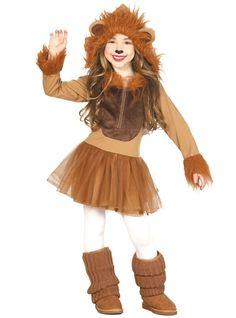 Disfraz de leoncita para niña