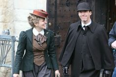 Setlock. I LOVE Mary's outfit! Elegant, badass, and offers mobility - I sense a cosplay coming!