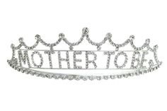 Mother to Be Crown Tiara Baby Shower Decorations