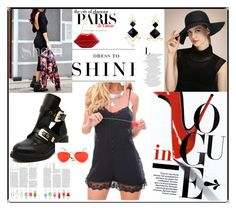 """""""SHEIN 8"""" by lillili25 ❤ liked on Polyvore featuring H&M and Levi's"""