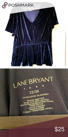 e6069c342f4 Shop Women s Lane Bryant Blue size 22 Blouses at a discounted price at  Poshmark. perfect for winter parties! Size from Lane Bryant.