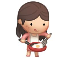 Kate's here to serve your everyday chatting needs! Cute, funny & lovely HJStory stickers for every occasions. Check out the other HJS stickers in the series!