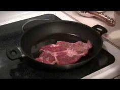 ▶ Отбивные из говядины.Как приготовить отбивные из говядины - YouTube