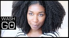 My MOST DEFINED Wash and Go | Easy Technique - Naptural85 the girl is a natural hair genius