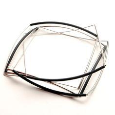 Rubber and steel bracelet by MUL-U #jewellery design