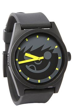 8f7cf170d30 Neff Watch Daily Sucker n Black and Yellow Awesome Watches