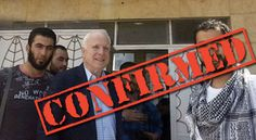 Senator John McCain recently appeared on Fox News and seems to have slipped up, accidentally confirming that the Syrian rebels he met with, did in fact have ties to ISIS. This was a foregone conclusion Music Licensing, Trump, Current News, Illuminati, Saudi Arabia, Syria, How To Know, Obama, Meet