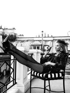 Anna Selezneva by Lachlan Bailey for Vogue Paris December January 2013-2014