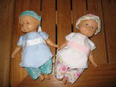 Un petit relooking tout simple pour les mini poupées