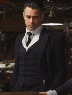 Percival Graves -- character inspiration for the Mayor. (aka Colin Farrell)