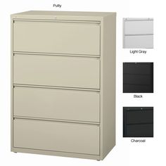 Best Of Hirsh 4 Drawer File Cabinet