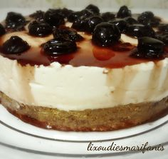 Sweet Recipes, Cake Recipes, Healthy Cake, Cheesecakes, Sugar Free, Recipies, Deserts, Food And Drink, Sweets