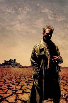 "Tim Bradstreet - John Constatine in ""Hellblazer"""