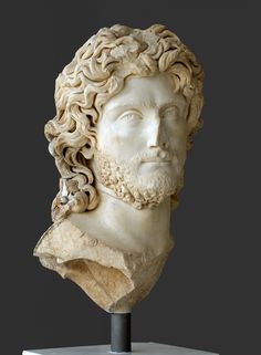 Portrait of a ruler, presumably Sauromates II, king of Kimmerian Bosphorus. Marble. Late 2nd cent. CE. Inv. No. NAM 419. Athens, New Acropolis Museum. (Photo by I. Sh.).