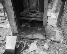 Filthy Privy Viintage Outhouse 8x10 Reprint Of Old Photo