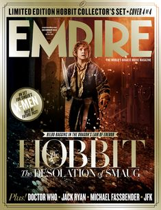 Bilbo - Empire's Four Covers For The Hobbit: The Desolation Of Smaug Are Here