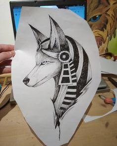 Tattoo Anubis
